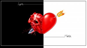 Любовь, ненависть.