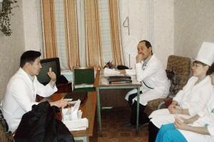 Медицинские работники.